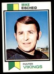 1973 Topps #112  Mike Eischeid  Front Thumbnail