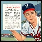 1955 Red Man #5 NL x Johnny Logan  Front Thumbnail