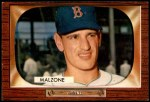 1955 Bowman #302  Frank Malzone  Front Thumbnail