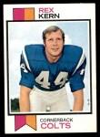 1973 Topps #28  Rex Kern  Front Thumbnail
