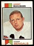 1973 Topps #146  Horst Muhlmann  Front Thumbnail