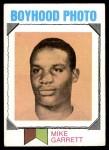 1973 Topps #267   -  Mike Garrett Boyhood Photo Front Thumbnail
