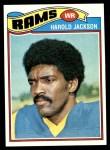 1977 Topps #445  Harold Jackson  Front Thumbnail