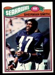 1977 Topps #337  Sherman Smith  Front Thumbnail