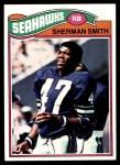 1977 Topps #337  Sherman Smith  Front Thumbnail