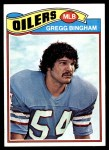1977 Topps #366  Gregg Bingham  Front Thumbnail