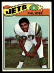 1977 Topps #377  Phil Wise  Front Thumbnail