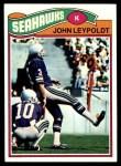1977 Topps #387  John Leypoldt  Front Thumbnail