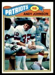 1977 Topps #401  Andy Johnson  Front Thumbnail