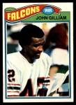 1977 Topps #418  John Gilliam  Front Thumbnail