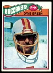 1977 Topps #338  Dave Green  Front Thumbnail