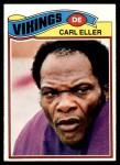 1977 Topps #385  Carl Eller  Front Thumbnail