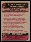 1977 Topps #432  Bob Johnson  Back Thumbnail