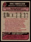 1977 Topps #434  Eric Torkelson  Back Thumbnail