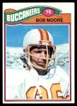 1977 Topps #468  Bob Moore  Front Thumbnail