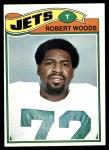 1977 Topps #469  Robert Woods  Front Thumbnail