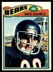 1977 Topps #481  Mike Adamle  Front Thumbnail