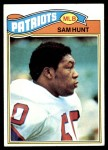 1977 Topps #356  Sam Hunt  Front Thumbnail
