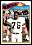 1977 Topps #391  Vern Holland  Front Thumbnail
