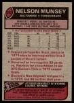 1977 Topps #392  Nelson Munsey  Back Thumbnail
