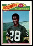 1977 Topps #402  Willie Buchanon  Front Thumbnail