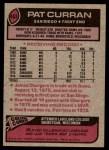 1977 Topps #403  Pat Curran  Back Thumbnail