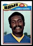 1977 Topps #463  James Harris  Front Thumbnail