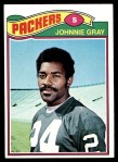 1977 Topps #471  Johnnie Gray  Front Thumbnail