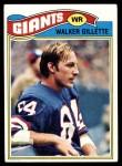 1977 Topps #457  Walker Gillette  Front Thumbnail