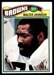 1977 Topps #476  Walter Johnson  Front Thumbnail