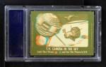 1963 Topps Astronauts 3D #37   -  John Glenn Rest day for Glenn Back Thumbnail