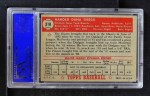 1952 Topps #318  Hal Gregg  Back Thumbnail