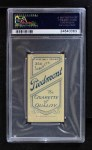 1909 T206 BAT Tim Jordan  Back Thumbnail