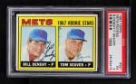 1967 Topps #581   -  Tom Seaver / Bill Denehy Mets Rookies Front Thumbnail
