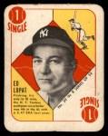 1951 Topps Blue Back #39  Eddie Lopat  Front Thumbnail