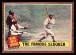 1962 Topps #138 A  -  Babe Ruth The Famous Slugger Front Thumbnail