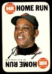 1968 Topps Game #8   Willie Mays   Front Thumbnail