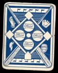1951 Topps Blue Back #35  Tommy Byrne  Back Thumbnail