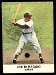 1961 Golden Press #9  Joe DiMaggio  Front Thumbnail