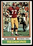 1974 Topps #287  Bill Brundige  Front Thumbnail