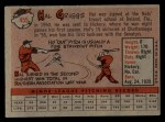 1958 Topps #455  Hal Griggs  Back Thumbnail