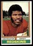 1974 Topps #235  Ken Houston  Front Thumbnail