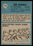 1964 Philadelphia #171  Bob DeMarco  Back Thumbnail