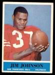 1964 Philadelphia #161  Jimmy Johnson  Front Thumbnail