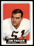 1964 Topps #45  Jim Fraser  Front Thumbnail