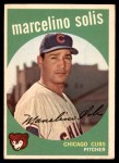 1959 Topps #214  Marcelino Solis  Front Thumbnail
