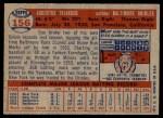 1957 Topps #156  Gus Triandos  Back Thumbnail