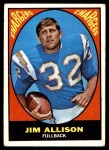 1967 Topps #122  Jim Allison  Front Thumbnail