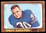 1966 Topps #21  Wray Carlton  Front Thumbnail