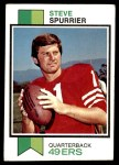 1973 Topps #481  Steve Spurrier  Front Thumbnail